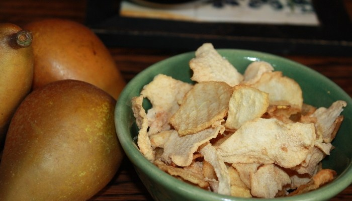 Dried Pears and Apple Sauce