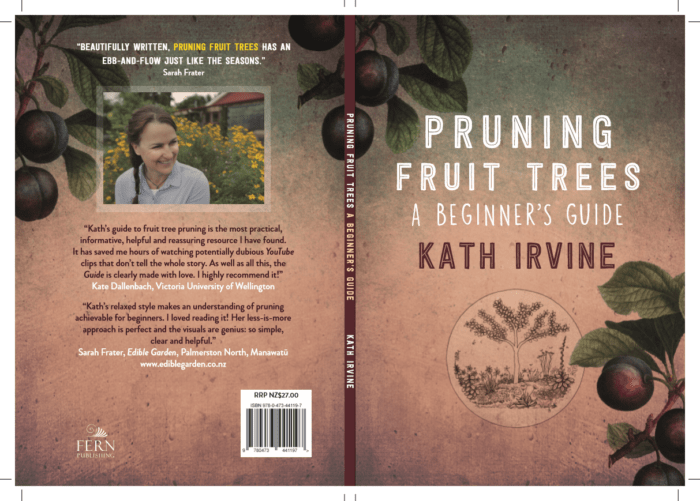Pruning Fruit Trees: Abeginners Guide Kath Irvine Full cover