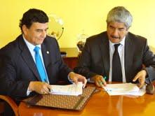 Fiman acuerdo para desarrollar temas energéticos