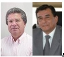 Actual Rector Soto y académico Alvaro Carevic a segunda vuelta por Rectoría de la Unap