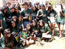 Secundarios en campamento de inglés protegen el medio ambiente en Tarapacá