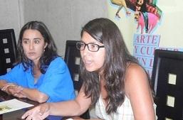 MARIELA VIAL, PRODUCTORA Y CAROLINA BARRERA, ENCARGADA DEL PROYECTO