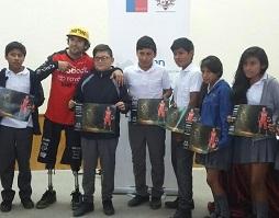 Deportista Adolfo Almarza Amputado De Sus Piernas Da Charla