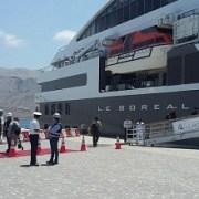 Nuevos cruceros llegan a Iquique. Las salitreras uno de sus lugares predilectos