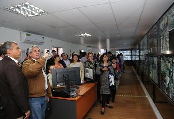 Concejales de todo Chile conocieron Centro de Control y Vigilancia de la Municipalidad de Iquique
