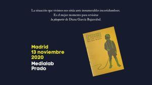 La noche de los libros en Medialab Prado