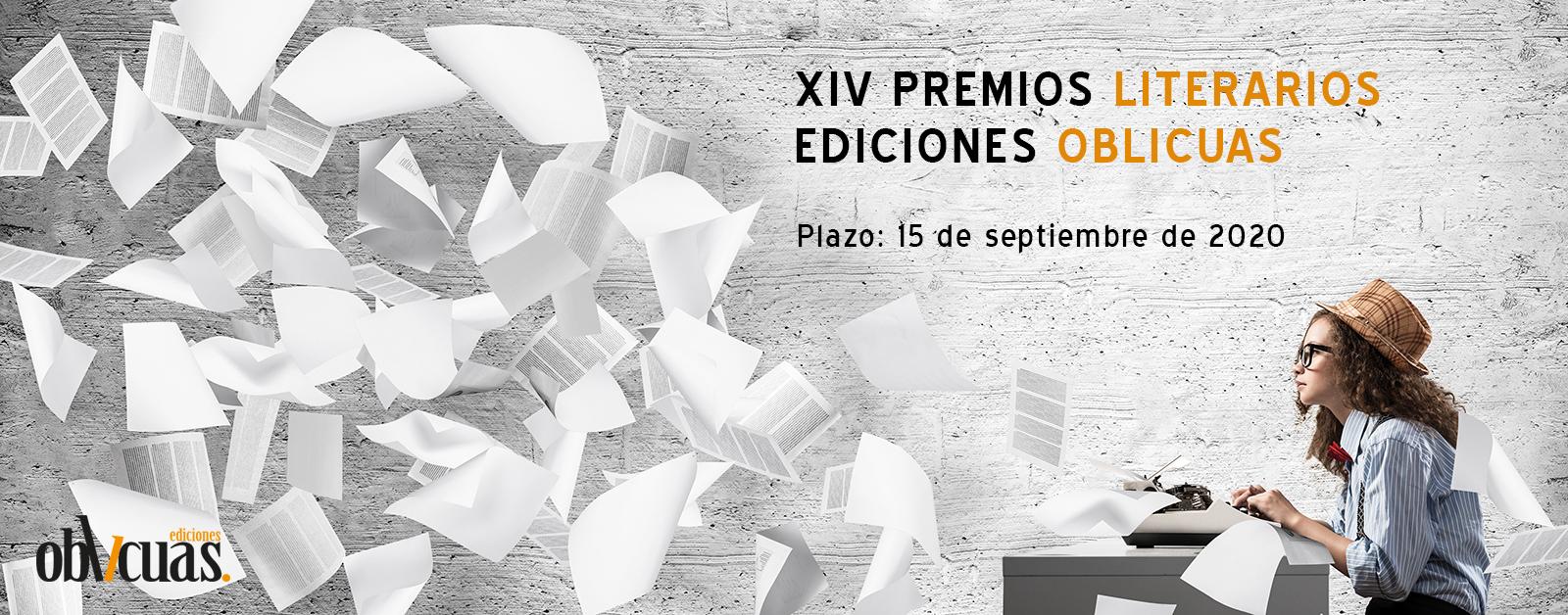 XIV Premios Literarios Ediciones Oblicuas