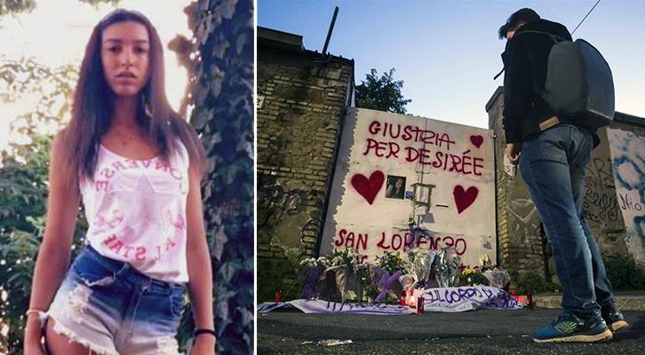 Omicidio di Desirée Mariottini: L'identikit dei 4 alla sbarra