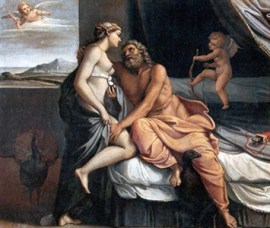 Annibale Carracci, Giove e Giunone