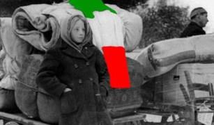 Accanto alle Foibe c'è il ricordo dell'esodo della popolazione italiana dall'Istria e dalla Dalmazia