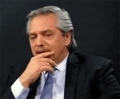 Rischio default per l'Argentina. Il presidente Alberto Fernandez