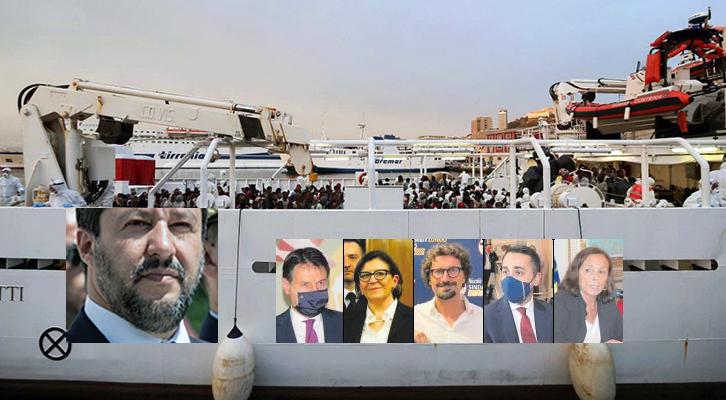 Processo Gregoretti, il 1° round è di Matteo Salvini