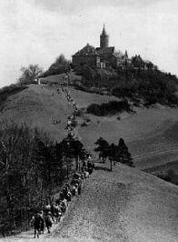 I Wandervögel. Salita al Leuchtenburg, 1925