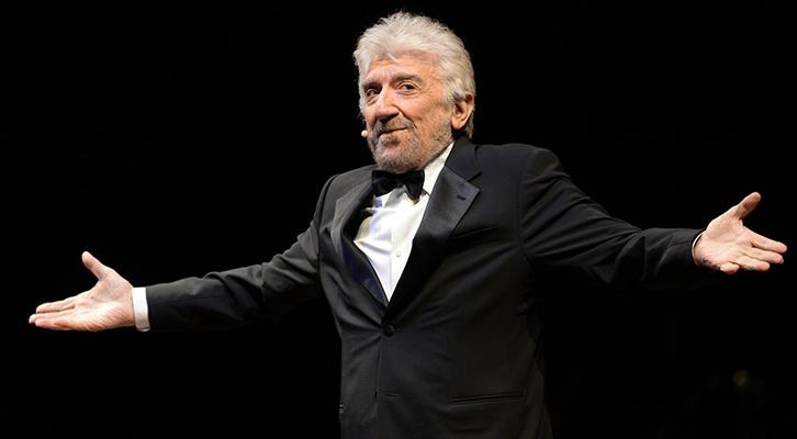 Con Gigi Proietti scompare un grande talento italiano