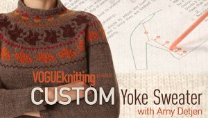 Custom Yoke Sweater