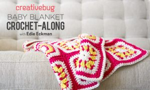 Creativebug Baby Blanket Crochet Along