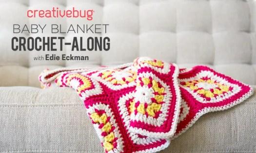 Creativebug Baby Blanket Crochet Along