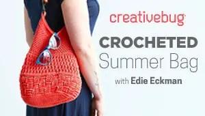 Crocheted Summer Bag Creativebug