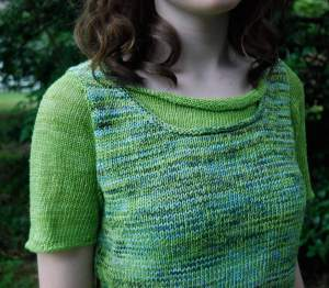 Linen Tee knitting pattern