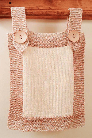 Bath Knits Tab Top Towel
