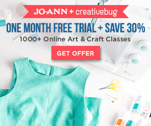 Joann + Creativebug ad