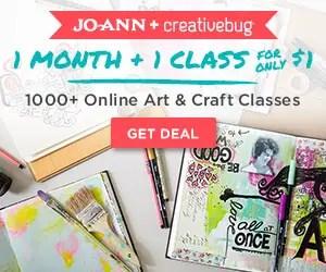 JoAnn Creativebug deal