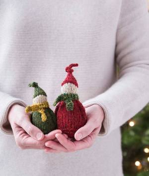 Jolly Wee Elves Churchmouse Yarns Knit Pattern