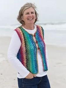 Noro Vest Crochet Pattern
