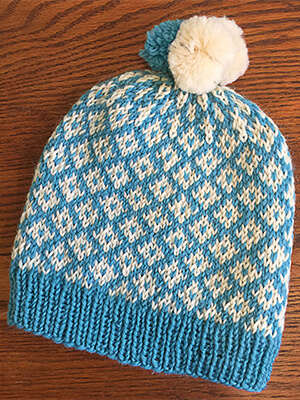 Potrero Hill Hat Knitting Pattern by Edie Eckman