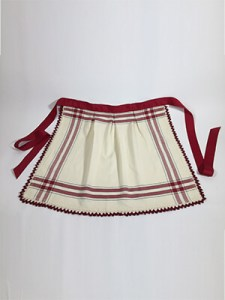 Vintage Touches Apron Sewing and Crochet Pattern