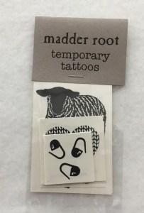 Madder Root Temporary Tattoos