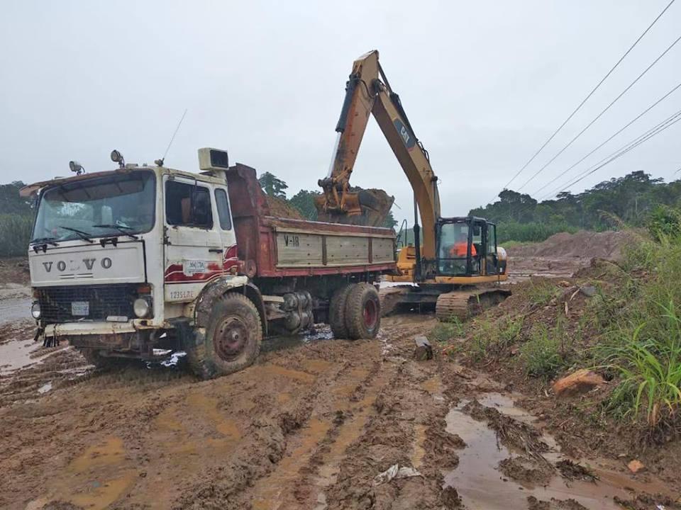 ABC dispone 124 equipos y obreros para rehabilitar caminos