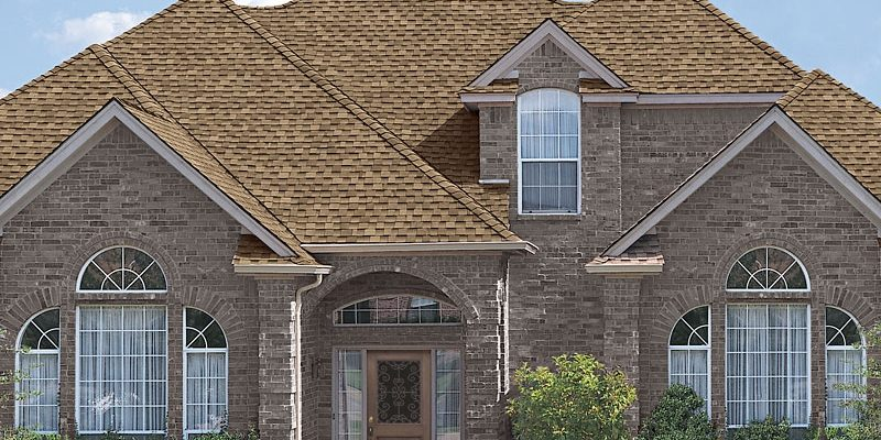 residential shingle roof - weather