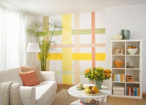 Ecco le soluzioni per tinteggiare le pareti di un soggiorno piccolo e i. Come Procedere Alla Pittura Delle Pareti Di Casa