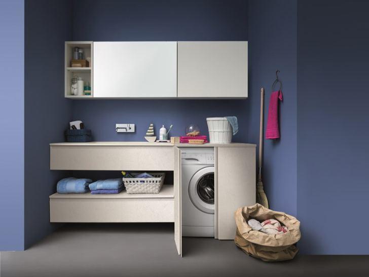 Mobili Per Nascondere Lavatrice In Bagno.Come Nascondere Una Lavatrice In Bagno Guida Con Foto Edil Posa