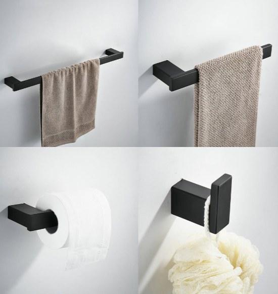 Accessori bagno stile minimalista