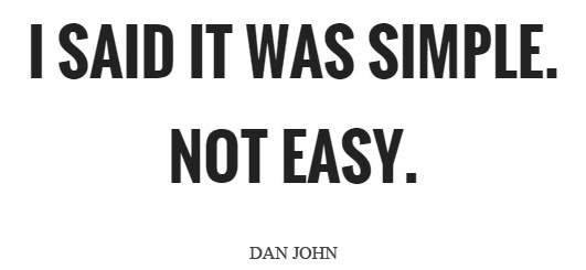 Dan John quote