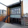 Vine Trust Barge Leith Docks