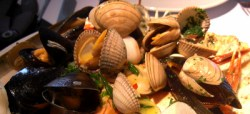 Shellfish at Ondine