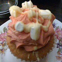 Sometimes a pink cupcake is all you can manage.