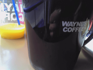 You have Starbucks, we have Wayne's. Same old, same old? No, not really. But yes.