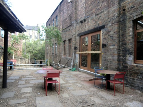 The Courtyard at The Timberyard