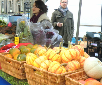 East Coast Organics at Edinburgh Farmers' Market