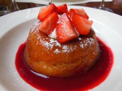 Strawberry Savarin Brasserie de Luxe