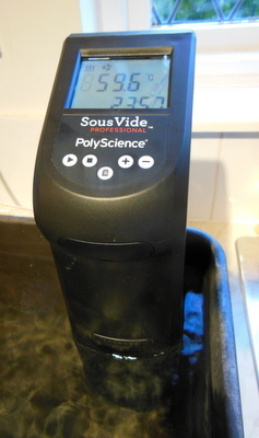 The Sous Vide Creative Getting up to Temperature