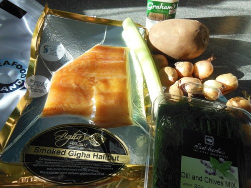 Ingredients for Mark's Cullen Skink