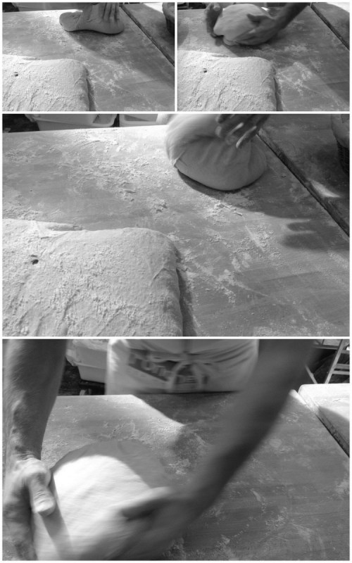 It was fascinating to watch master bakers' shaping techniques