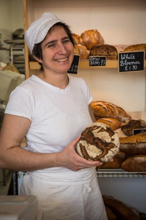 Katia Lebart, Wee Boulangerie Edinburgh. Photo Brendan MacNeill