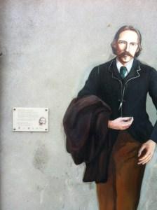 Robert Louis Stevenson lived in Chatillon-sur-Loire