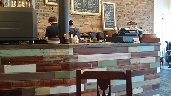 Odds and Ends - a welcome addition to the Polworth café scene
